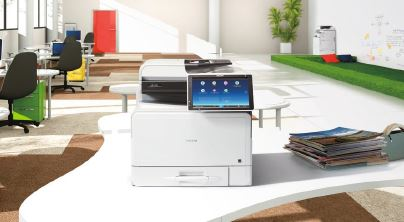 Ricoh MPC307spf Colour Multifunctional Printer
