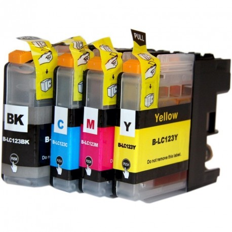 Comp Brother LC123 Inks Multipack